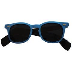 1990s Sunrock Blu Sunglasses