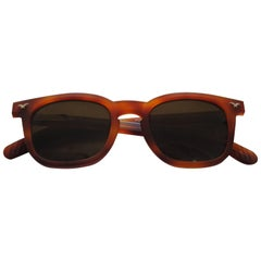 1990s Police Brown Sunglasses