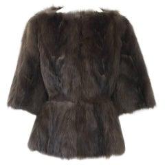 Custom Sable Jacket