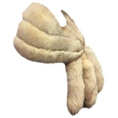 1950s Lush Norwegian Fox Fur Stole with 6 Detachable Fox Tails