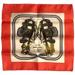 Hermes Petite Scarf Brides de Gala Celebrating Bluette 75th Anniversary
