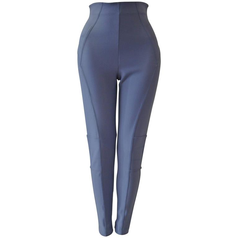 Claude Montana Lavender Stretch Leggings 1