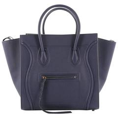 Celine Phantom Handbag Grainy Leather Large