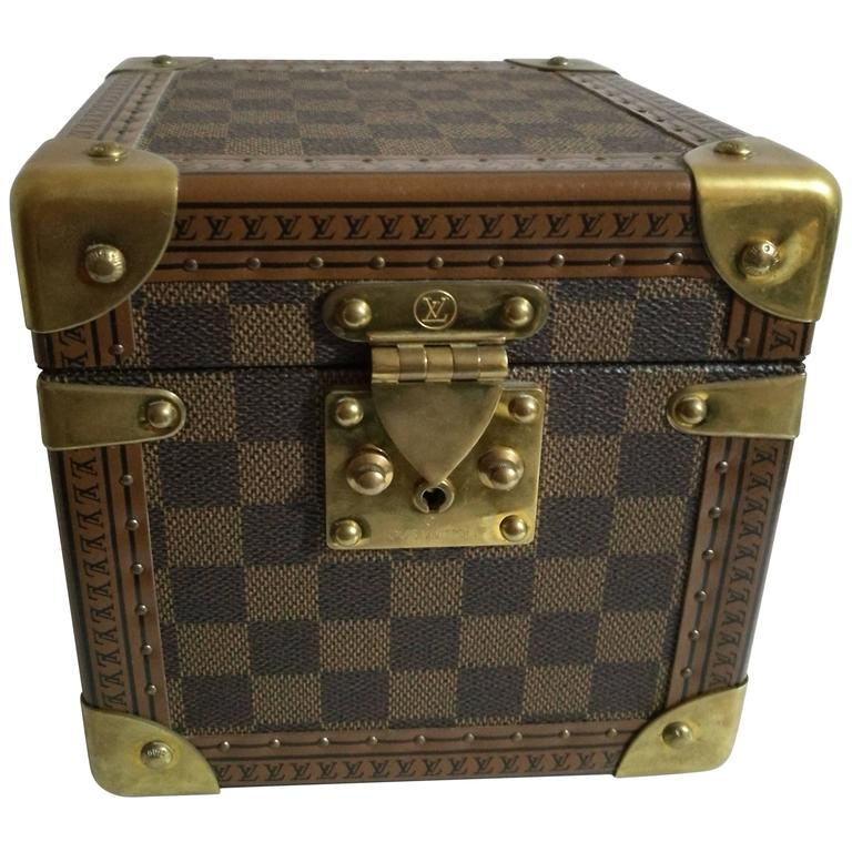Louis Vuitton Monogram Watches & Jewels Case For Sale