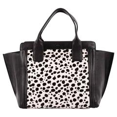 Chloe MAlison East West Tote Calf Hair Small