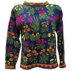 Kenzo Jungle multicolour Flower Sweater