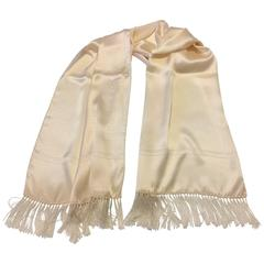 Givenchy Gentleman's Fringed Formal Attire for Black or White Tie Events.