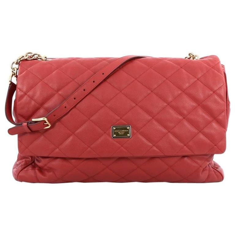 Dolce   Gabbana Miss Kate Shoulder Bag Quilted Vitello Soft Large For Sale 60a2f5db17a67