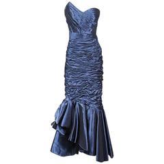 Ungaro Strapless Gown circa 1980s