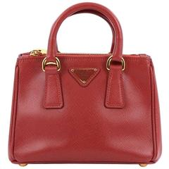 Prada Galleria Crossbody Bag Saffiano Leather Mini