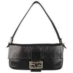 FENDI Handbag - Black Leather Handbag