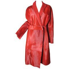 Valentino Pony Fur Coat