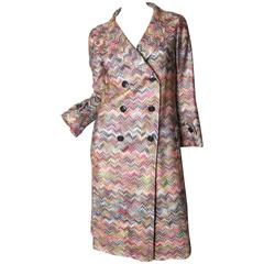 Missoni Knit Trench Coat - sale