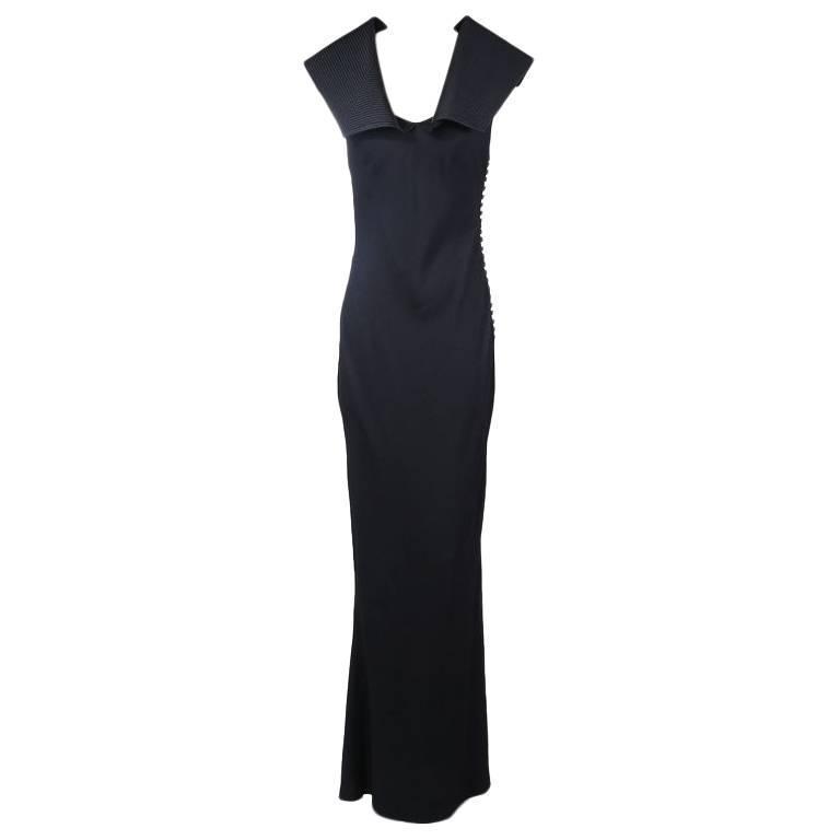 John Galliano for Christian Dior Bias-Cut Dress circa late 1990s/early 2000s