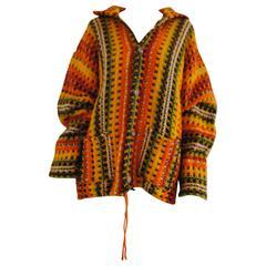 Vintage multicolour Wool Cardigan