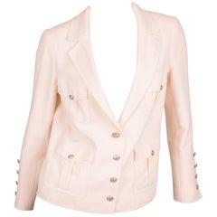 Chanel Jacket - beige/silver