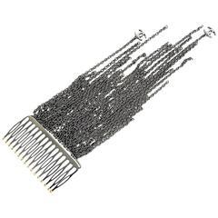 Vintage Chanel Hair Comb Rare