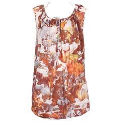 Hussein Chalayan Cotton Jungle Print Sleeveless Summer Dress