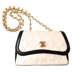 Chanel Crossbody Bag - Black and White