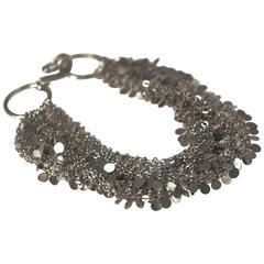 Argentium Silver Cascade Bracelet