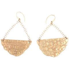 Bronze Half Moon Earrings