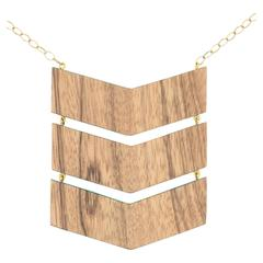 Triple Chevron Necklace