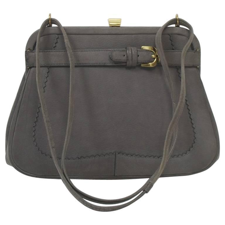 Koret Gray Suede Bag