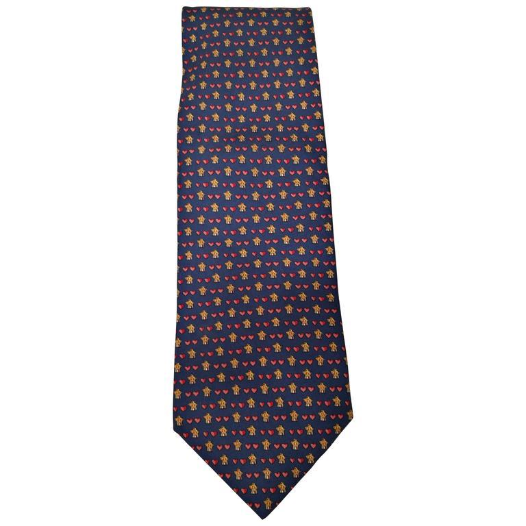 Salvatore Ferragamo Blu Tie