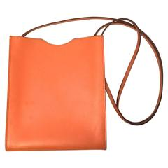 Hermes Orange Crossbody Bag
