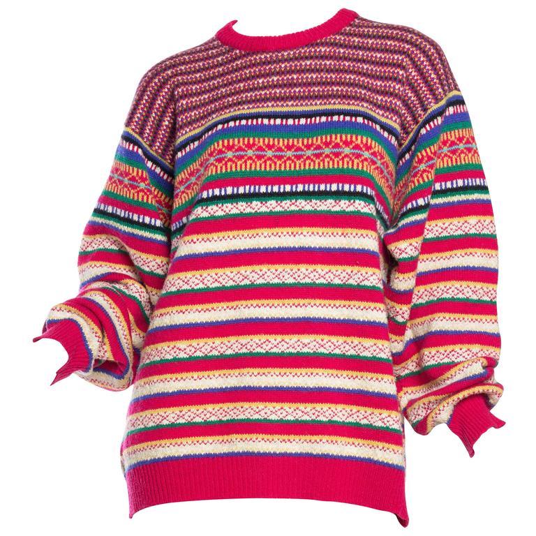 Rainbow Stripe Psychedelic Kenzo Sweater