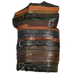 Maison Martin Margiela Artisanal Leather Belt Vest 2006
