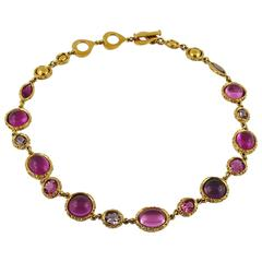 Yves Saint Laurent YSL Vintage Jewelled Necklace