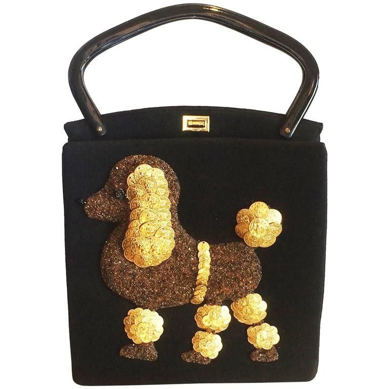 1stdibs Rare Large Jolles Of Paris 1950s Poodle Bag lsK9ErVth3