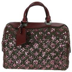 Louis Vuitton Speedy Sunshine Express Burgundy Sequin Monogram Limited Edition