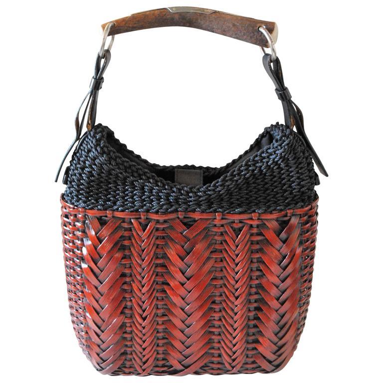1776872e74e5 2000 Rare Yves Saint Laurent Mombasa from Tom Ford Era bag at 1stdibs