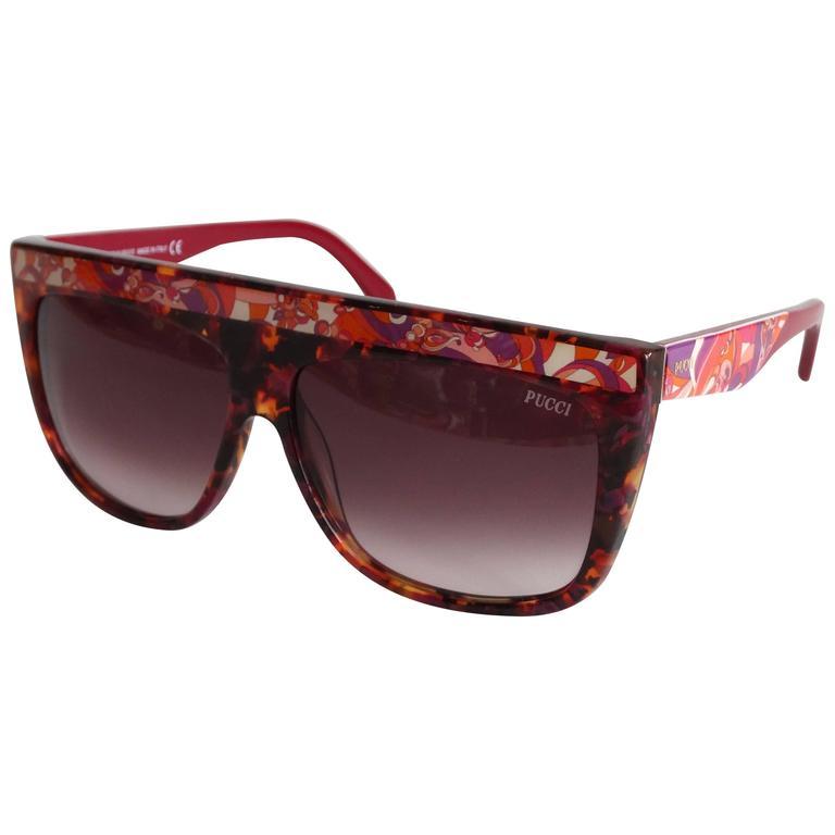 1990s Emilio Pucci Confetti Sunglasses  For Sale