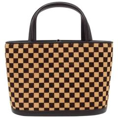 Louis Vuitton Tigre Damier Sauvage Pony Hair Hand Bag