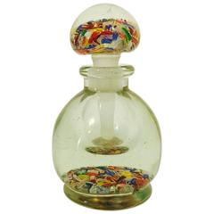 Men's ca. 1930's Chinese Millefiore Bottle with stopper