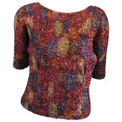 1990s Mascotte Vintage multicolour shirt