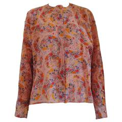 Ungaro Solo Donna Paris Wool Flower Shirt