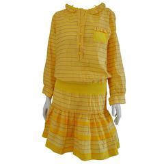 Sonia Rykiel Yellow cotton Dress