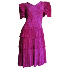 1980's Mary McFadden Couture Dress