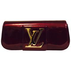 Louis Vuitton Vernis SoBe Clutch Rouge Fauviste