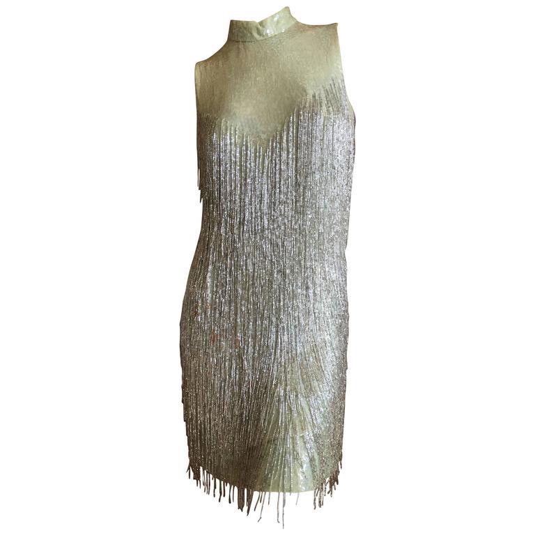 Beaded Fringe Dress