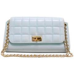 Chanel Light Blue Shoulder Bag