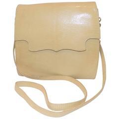 Vintage Siso crossbody lizard  bag