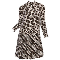 1960s Philippe Venet Demi-Couture Dress