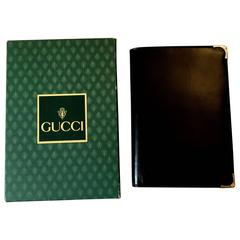 New Vintage Gucci Passport Holder / Business Wallet