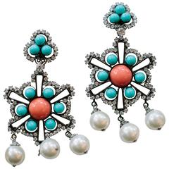 Lawrence Vrba Chandelier Earrings