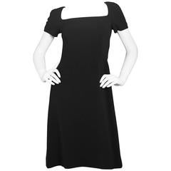 Dolce & Gabbana Black Short Sleeve Dress sz IT38
